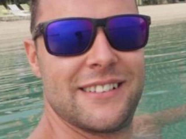British electrician Jamie Harron is facing three years jail for touching a leading Dubai businessman's hip in a bar to avoid spilling his beer