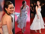 Marion Cotillard walks the red carpet at the 2014 International Cannes Film Festival. Pictures: Getty