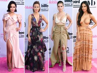 Stars hit the red carpet at the 2017 Billboard Music Awards in Las Vegas. Picture: Supplied