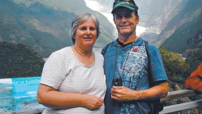 Catherine and Robert Lawton, aged 54 and 58, were on the missing plane.