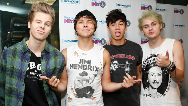 5 Seconds of Summer. (Photo by Cindy Ord/Getty Images for SiriusXM)