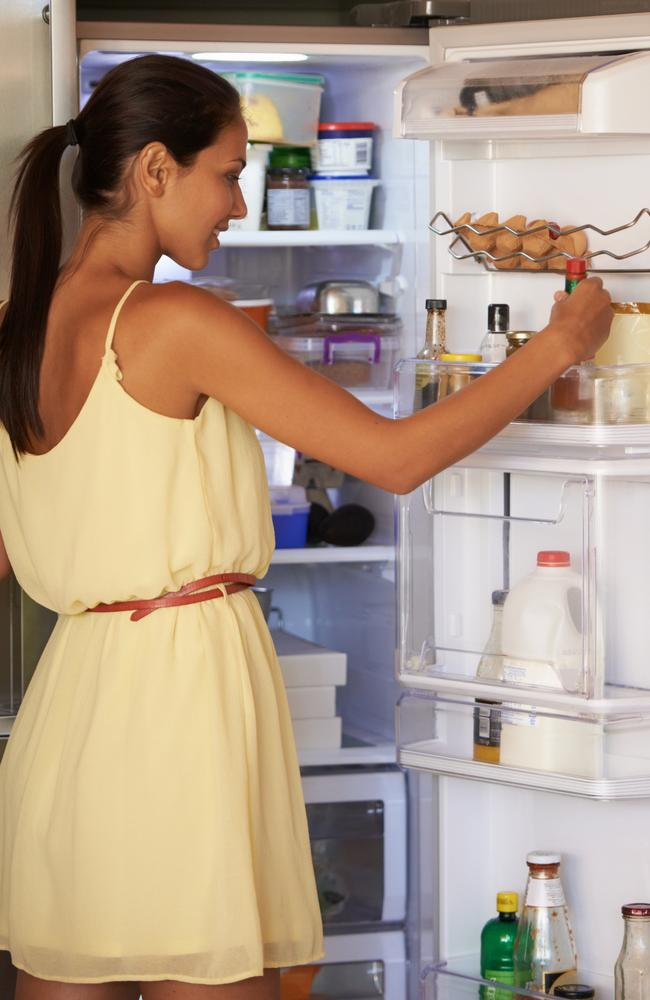 If you're keeping milk and other dairy products in the fridge door, you're already failing at stacking your fridge.