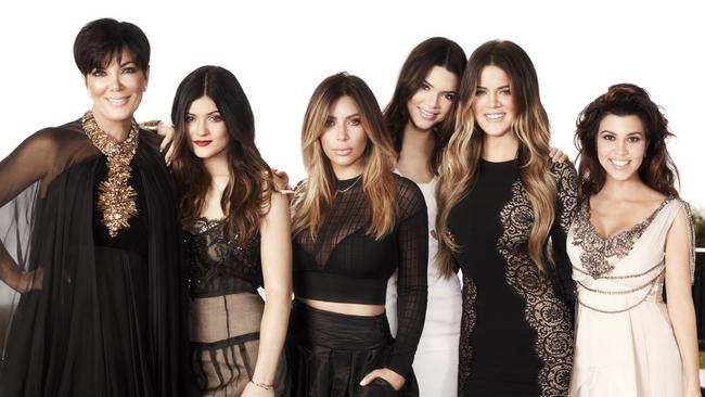 The Kardashian/Jenner women.