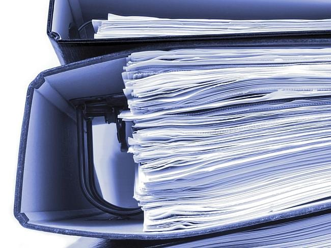 Don't get bogged down in paper when there is nifty computer software to avoid it.