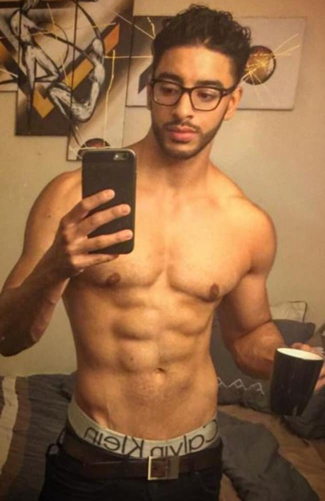 New body ... Laith Ashley is a transgender model who is rising up the ranks. Picture: Nelson Castillo/Caters News