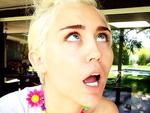 "A SNEAK peek at the best celebrity pix on social media - get your fix as it happens! Miley Cyrus was on an Instagram frenzy on Monday morning! ""I can make wealllly pwetttttty jewelry & faces."" Picture: Instagram"