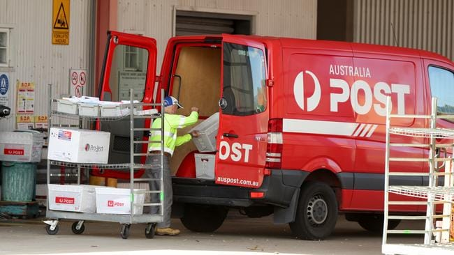 Australia Post says its service is improving.