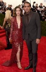 """Rose Byrne and Bobby Cannavale attend the Met Gala 2015 """"China: Through The Looking Glass"""". Picture: Getty"""