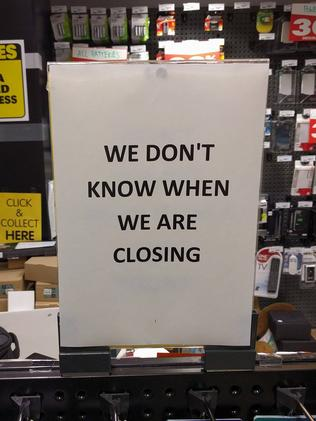 Dick Smith stores will close by April 30.