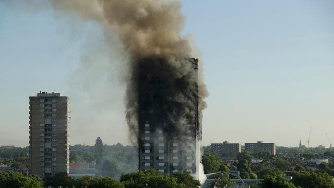 An inquiry into last year's devastating fire at Grenfell Tower in west London is set to begin on Monday May 21, 2018, with two weeks of tributes to the 71 people who died. Picture: AP/Matt Dunham.