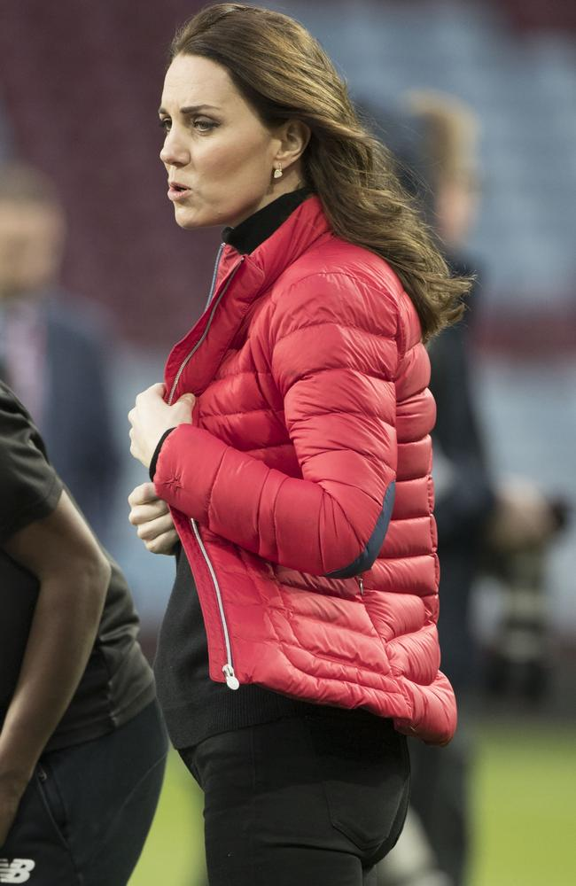 Behold Kate's bump. Picture: i-images/Media Mode