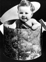 Actor Mickey Rooney as a child 11-month-old. Picture: File Photo