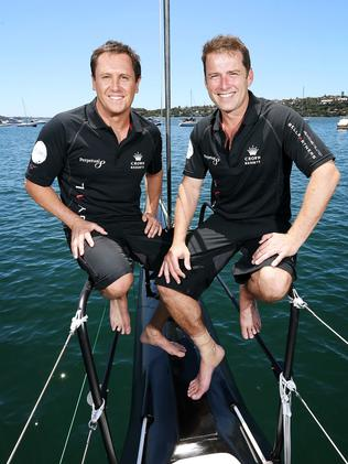Out: Larry Emdur and Karl Stefanovic.