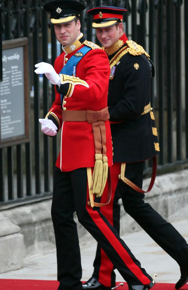 Britain's Prince William is set to miss the FA Cup final while being best man for Prince Harry. Picture: AP Photo/Paul Rogers, Pool, File.