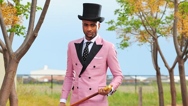 Sartorial adventures are perfectly fine for the races but perhaps not for the office. Picture: News Limited.