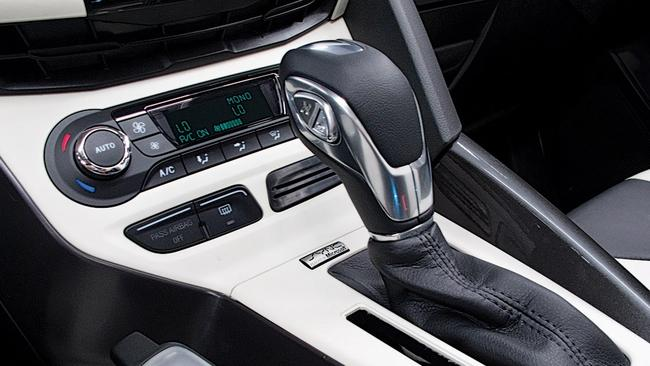 Here's the culprit: the Powershift gearlever looks the same as that of a regular automatic but the transmission itself wasn't as smooth. Instead it shuddered and there were delays in shifting. Picture: Supplied.