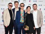 Ball Park Music arrive on the red carpet for the 30th Annual ARIA Awards 2016 at The Star on November 23, 2016 in Sydney, Australia. Picture: AAP