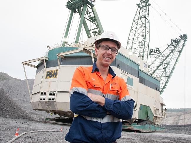 Employment helps build independence ... Ryan Fox, 24, is a mining engineer with Rio Tinto in the NSW Hunter Valley.