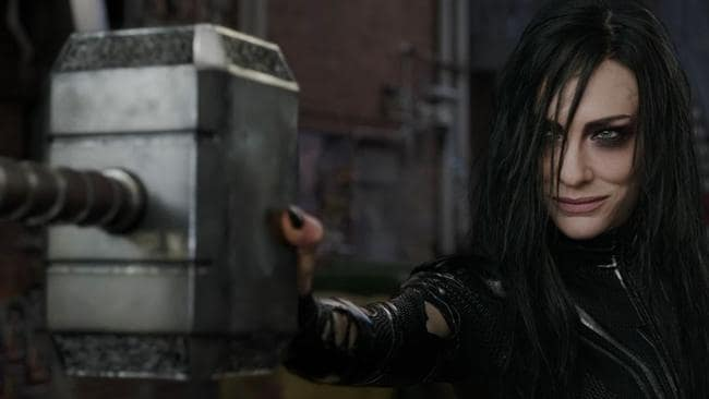 The spoiler revealed Blanchett's character Hela's real relation to Thor. Picture: Marvel Entertainment