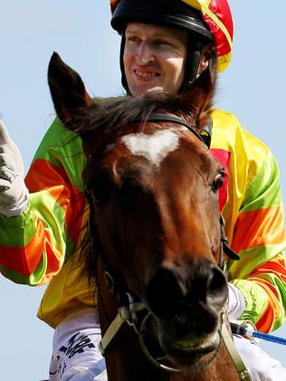 Craig Newitt has struck up a hugely successful partnership with sprinting sensation Lankan Rupee. Picture: Colleen Petch