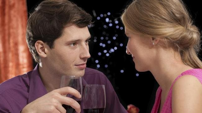Perfect partner + perfect wine — perfect partner = perfect date.