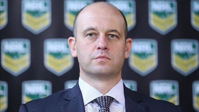New NRL head of football Todd Greenberg.