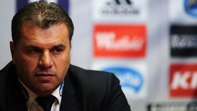 Ange Postecoglou was singled out as the next Socceroos coach after the loss to Brazil.