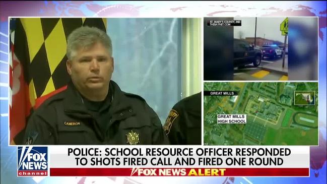 School shooting: Teenage gunman dead after he opened fire at Baltimore  school, seriously injuring two students