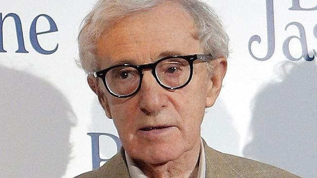 "Woody Allen pictured at the French premiere of ""Blue Jasmine""."