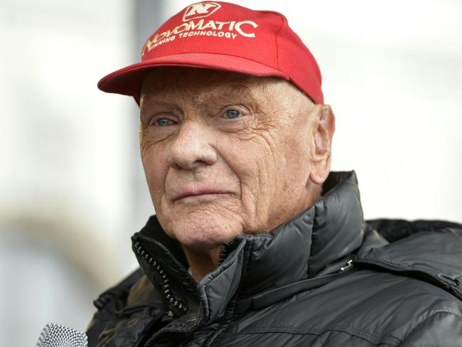 Lauda wasn't impressed with Rosberg's timing.