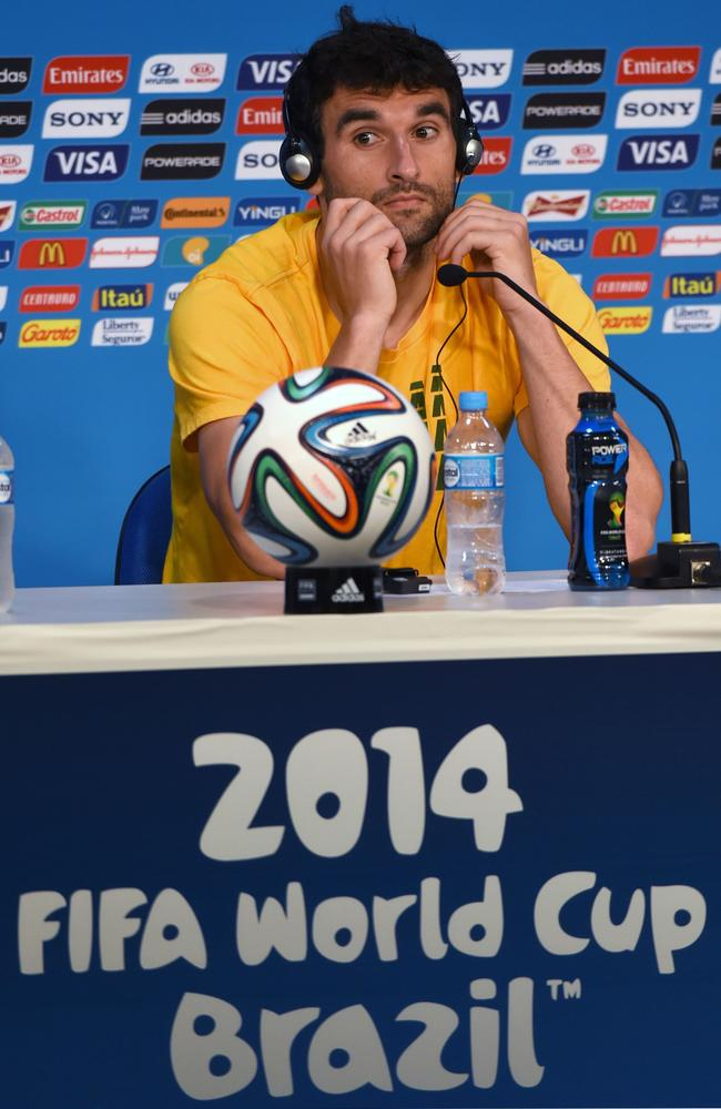 Socceroos captain Mile Jedinak speaks ahead of Australia's World Cup opener against Chile.