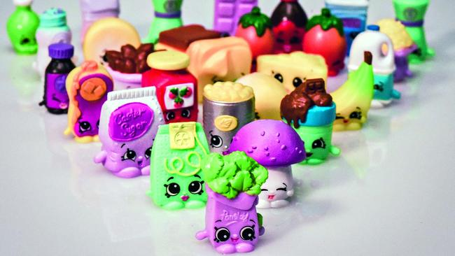 Gangbusters: Shopkins are sold in more than 100 countries.