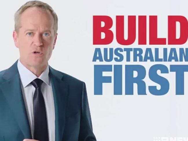 Anthony Albanese's response to the Labor ad was seen by some as a dig at Bill Shorten.