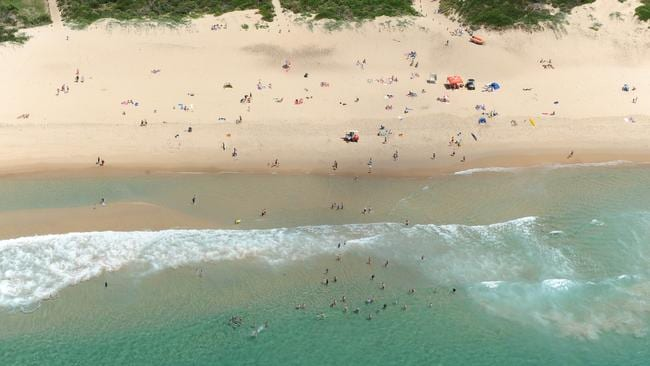 9. North Wollongong Beach — the ninth most popular coastal destination for Australia Day. Picture: News Corp Australia