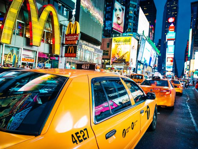 The cost of rent in Times Square is not viable for many retailers. Picture: iStock