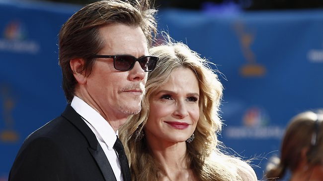 Kyra Sedgwick and husband Kevin Bacon.