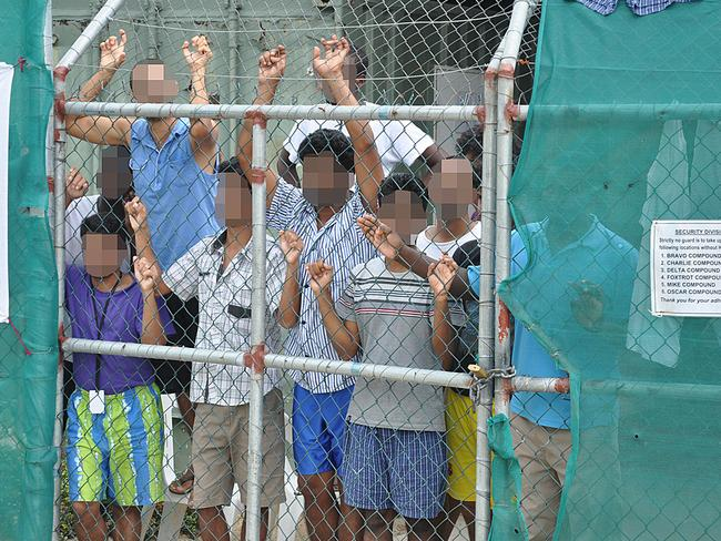 Manus Island detention centre remains an ongoing issue for the Federal Government, now that a deal with the US appears to have fallen through. Picture: AAP/Eoin Blackwell
