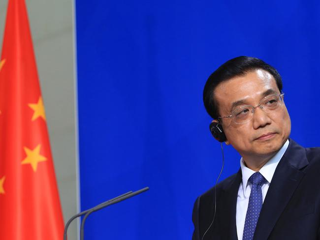 China's Premier Li Keqiang has been increasingly frustrated about his country's inability to manufacture entire products. Picture: Krisztian Bocsi/Bloomberg