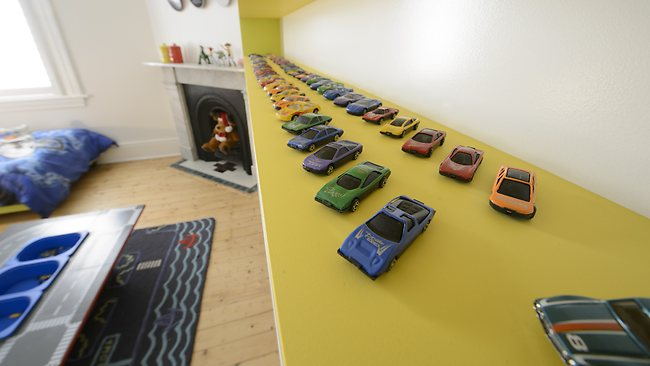 Mark and Duncan's winning kids room on The Block. Picture: Channel Nine
