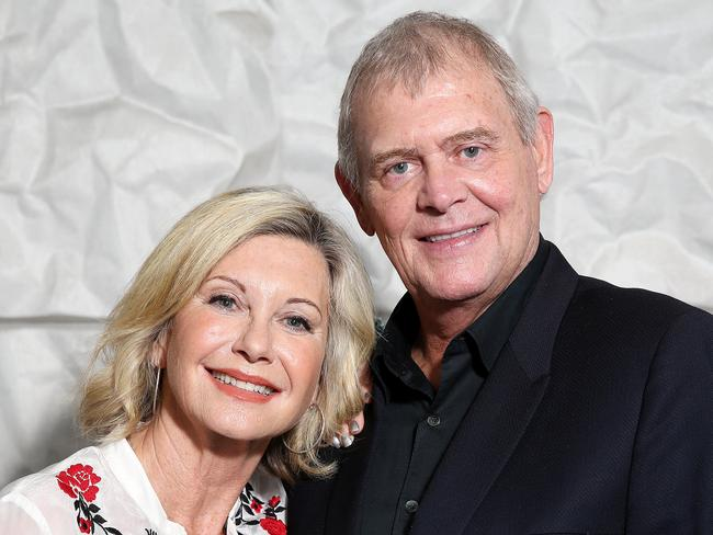 John Farnham and Olivia Newton John are Friends For Christmas. Picture: Carly Earl.