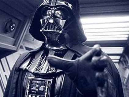 Darth Vader uses 'the Force'