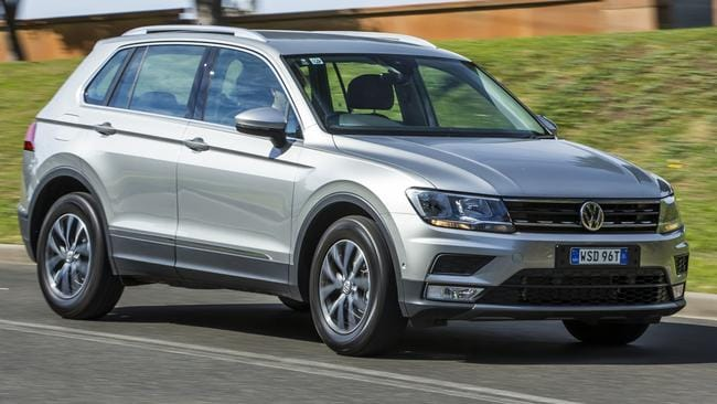The Volkswagen Tiguan is a class act, but it comes with a price premium. Picture: Supplied.