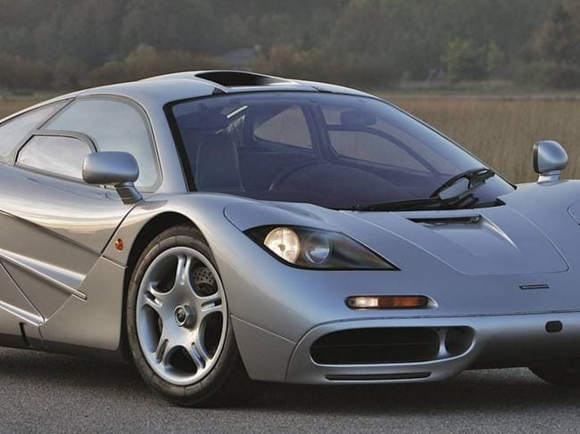 Aussie crashes $10 million McLaren F1