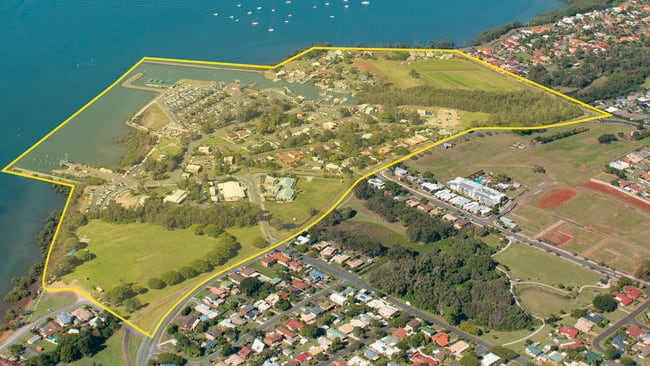 The Weinam Creek Priority Development Area, Redland Bay. Picture: Redland City Council.