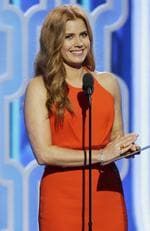 Presenter Amy Adams speaks onstage during the 73rd Annual Golden Globe Awards at The Beverly Hilton Hotel on January 10, 2016 in Beverly Hills, California. (Photo by Paul Drinkwater/NBCUniversal via Getty Images)