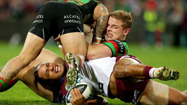 George Burgess's tackle on Steve Matai will be subject to the NRL match review committee.