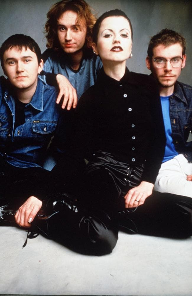 Irish band the Cranberries were one of the biggest bands in the world in the 1990s. Picture: Supplied