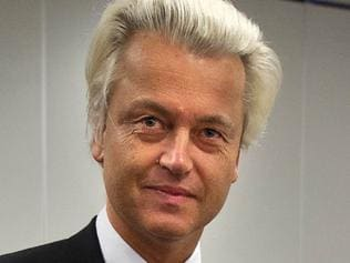 12/09/2012 WIRE: Dutch far-right Freedom Party leader Geert Wilders prepares to cast his vote on September 12, 2012 at a polling station in The Hague after voting in a general election that has shaped into a tight race between the Liberals of current Prime Minister Mark Rutte and rising Labor star Diederick Samsom. AFP PHOTO / ANP / JERRY LAMPEN - netherlands out - Pic. Afp