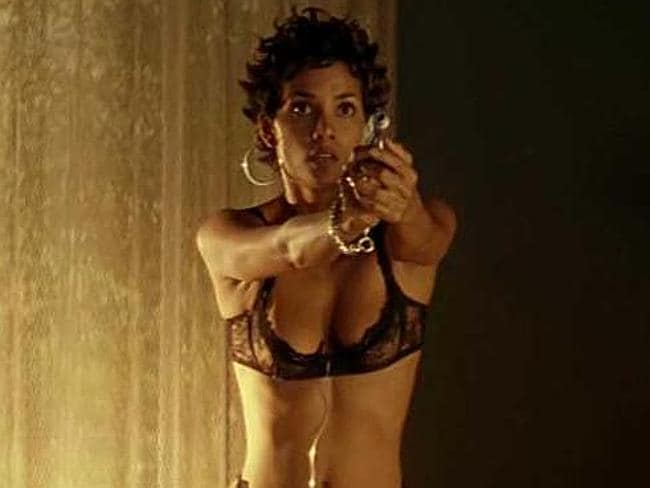 Halle Berry appeared topless for a hefty fee.