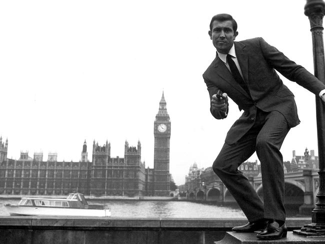 Australia's James Bond, George Lazenby in On Her Majesty's Secret Service.